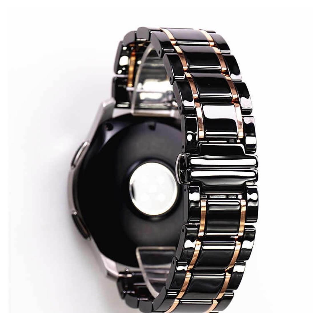 تصویر بند ساعت سامسونگ Galaxy Watch 3 45mm مدل Tiny Ceramics