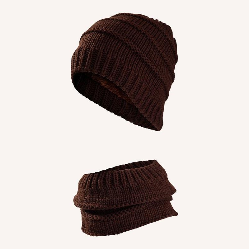 ست کلاه و شال گردن مردانه کد 4105