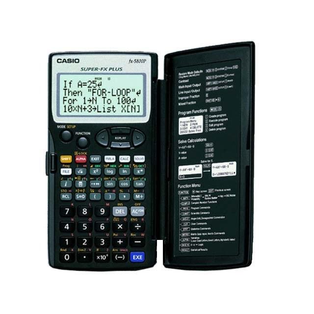 تصویر ماشین حساب کاسیو FX-5800 Casio FX-5800P Calculator