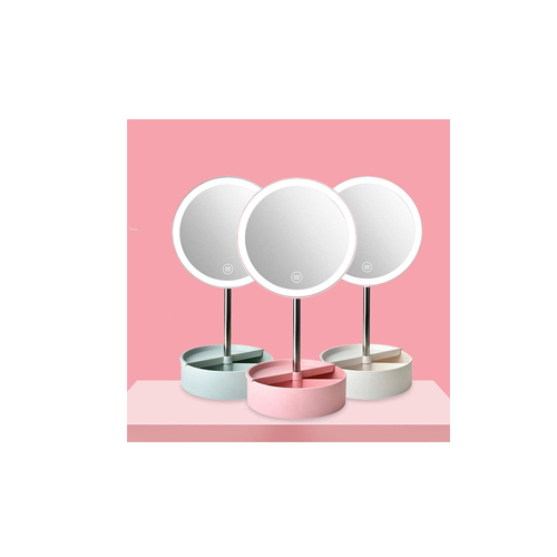 آینه آرایشی و رینگ لایت  شیشه ای مدل b0117s  