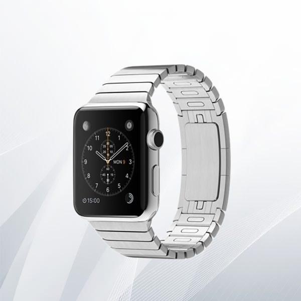 ساعت اپل با قاب استیل ضد زنگ و دست بند جفتی 42 میلی متر