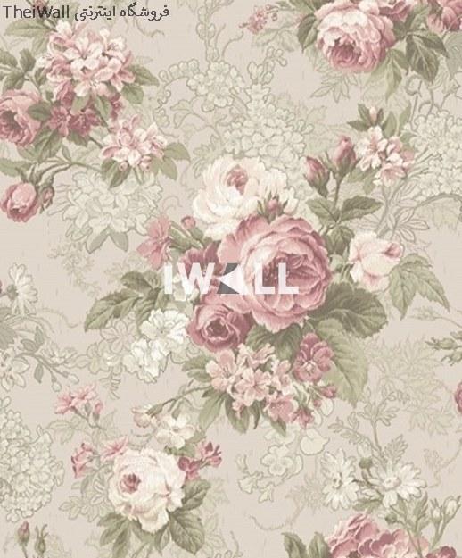 کاغذ دیواری کلاسیک طرح گل آلبوم ویتالیس کد 22015  