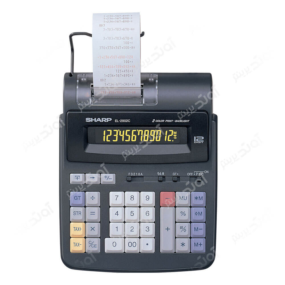 main images ماشین حساب شارپ مدل ایی ال 2902C SHARP EL-2902C Desktop Printing Calculator