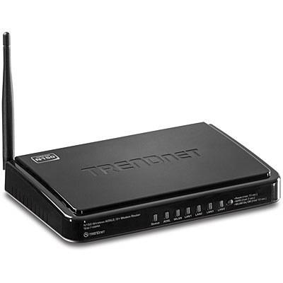 main images مودم روتر ای دی اس ال ترندنت مدل 718 مودم روتر ADSL ترندنت TEW-718brm Wireless N150 ADSL Modem Router