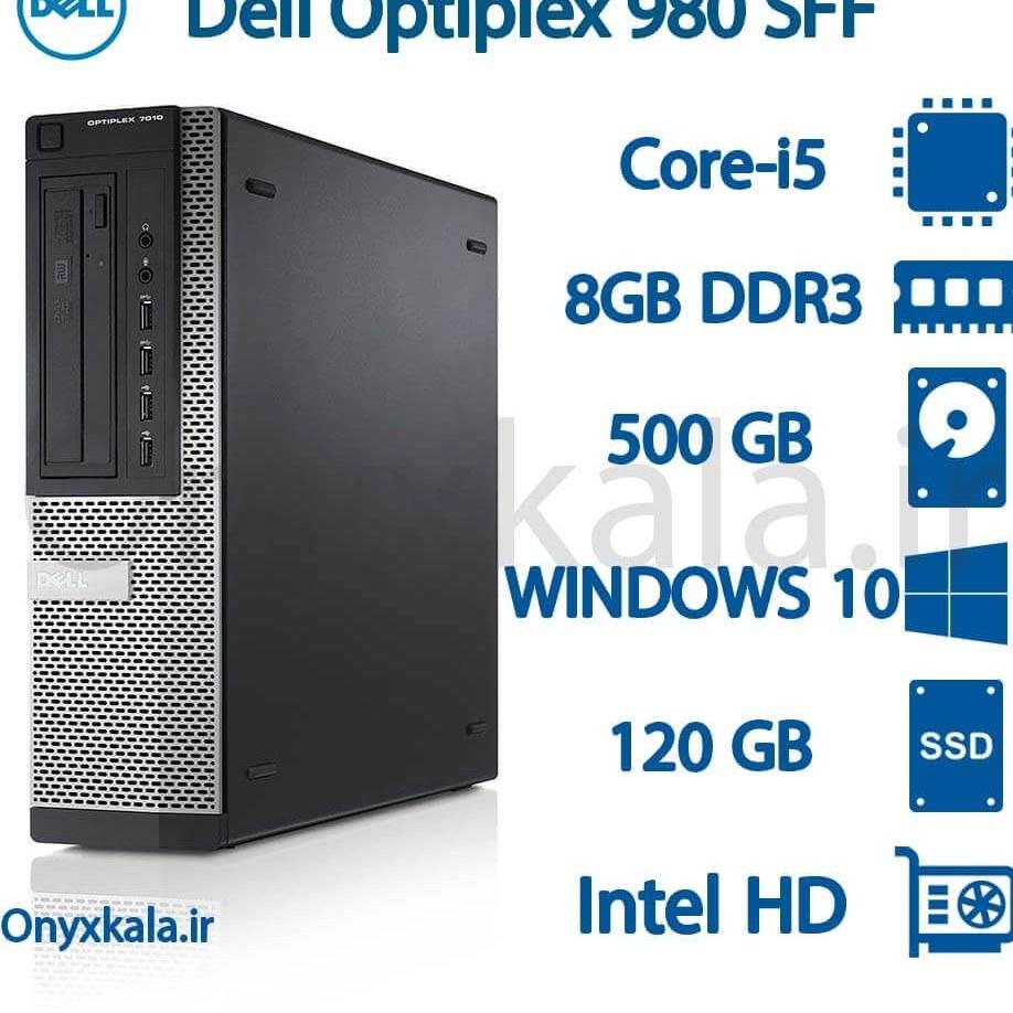 تصویر کامپیوتر دسکتاپ دل مدل OptiPlex 980 با پردازنده i5 کامپیوتر دسکتاپ دل مدل OptiPlex 980