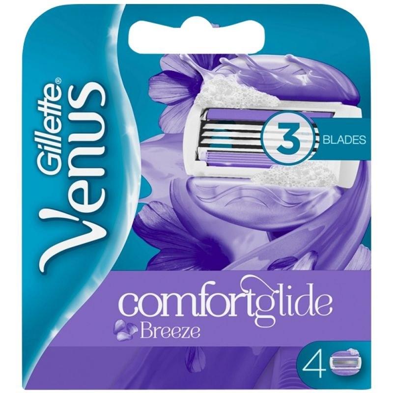 یدک تیغ اصلاح زنانه ژیلت مدل Venus Comfort Glide Breeze