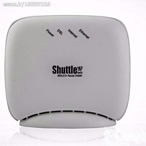 تصویر مودم روتر ADSL2 Plus شاتل مدل 350MY