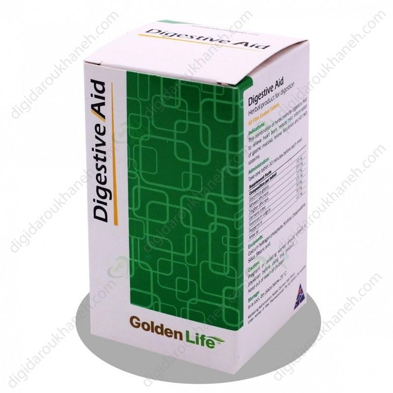 تصویر قرص دایجستیو اید گلدن لایف ا Golden Life Digestive Aid Golden Life Digestive Aid