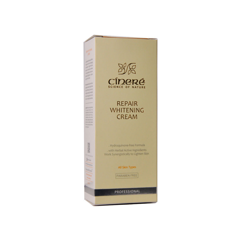 تصویر کرم ضد لک و روشن کننده سینره Cinere Repair Whitening Cream With Herbal Active Ingredients