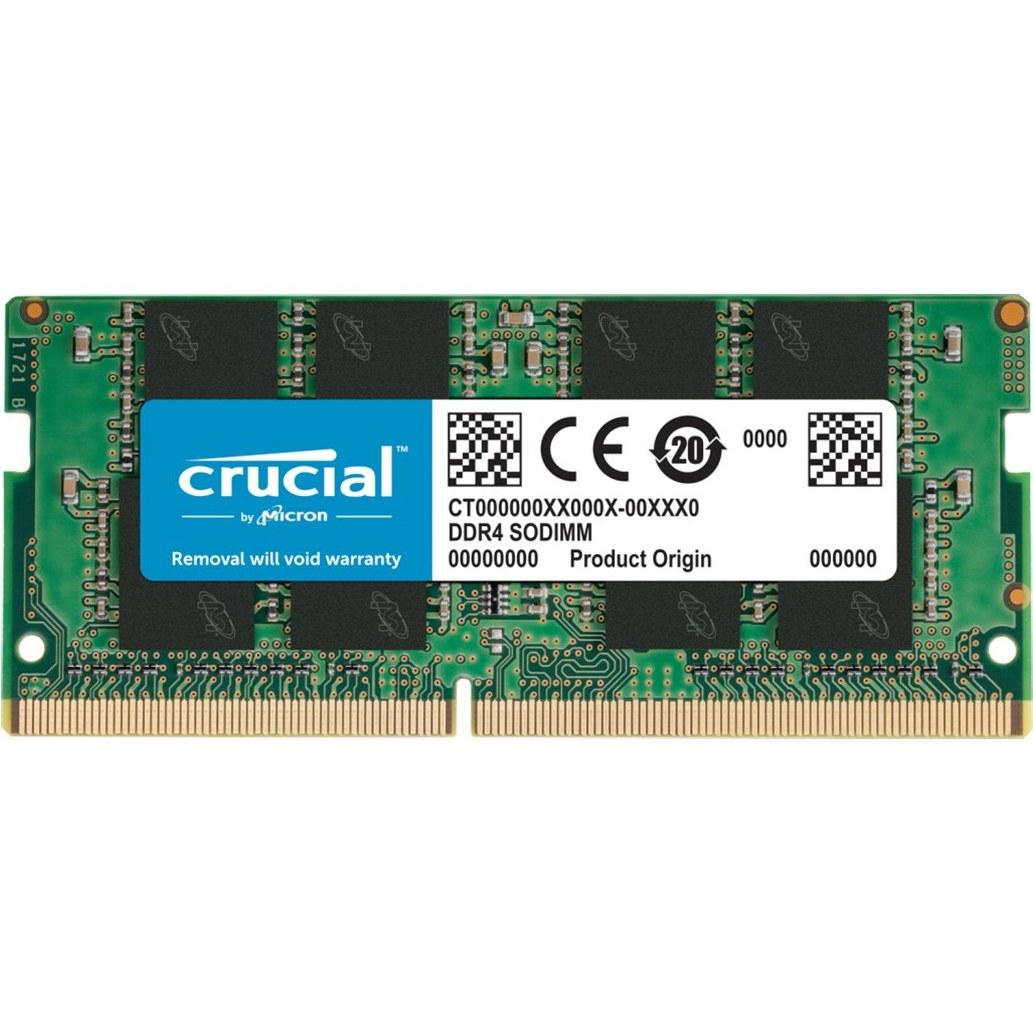 رم لپ تاپ کروشیال 16GB Single DDR4 2666 SODIMM