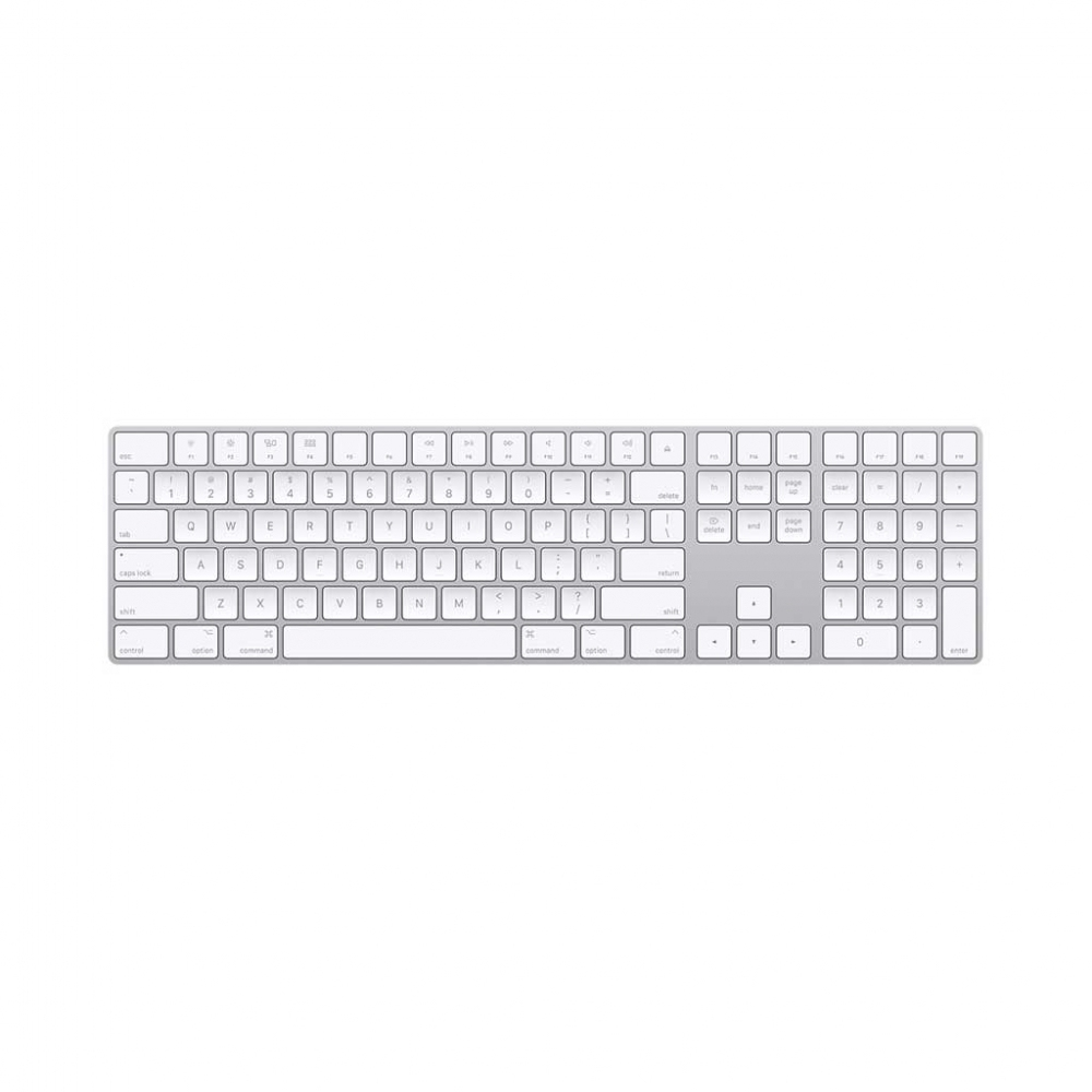 کیبرد اپل مدل Apple Magic Keyboard with Numeric Keypad - خاکستری