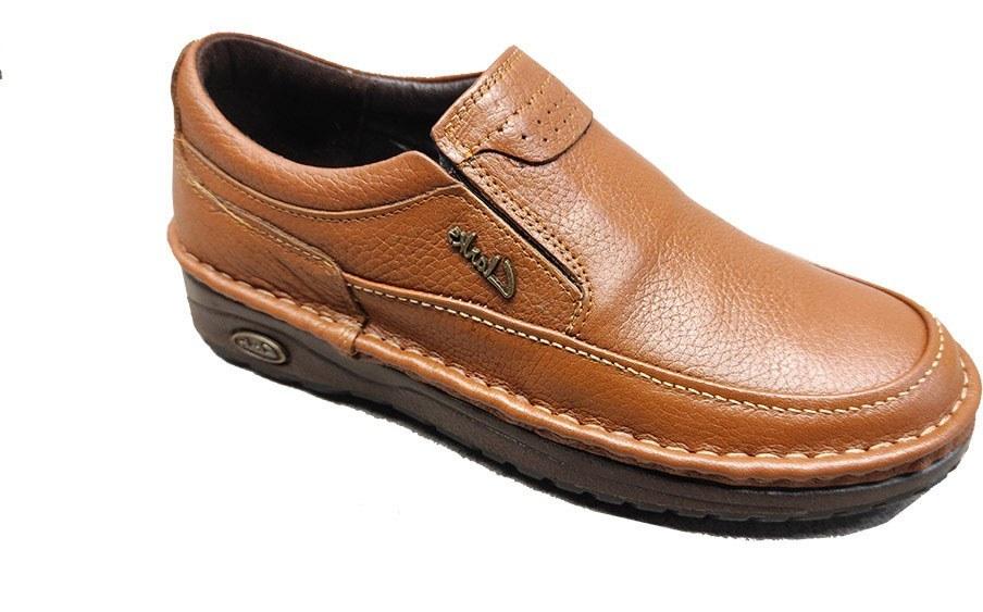 تصویر کفش راحتی مردانه چرم گاوی تبریز مدل clarks کد 265