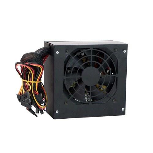 تصویر منبع تغذیه کامپیوتر RED مدل 280w پکدار با کابل برق RED 280w power