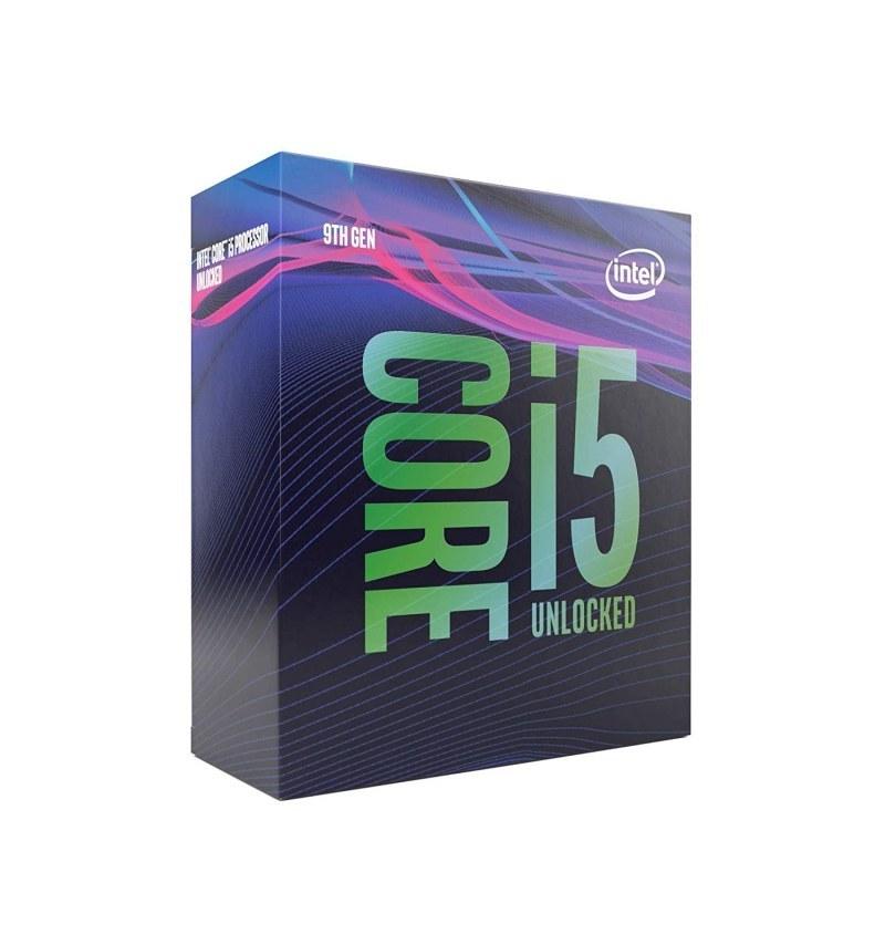 تصویر پردازنده اینتل مدل آی فایو ۹۶۰۰K با فرکانس ۳.۷ گیگاهرتز Intel Core i5-9600K 3.70GHz LGA 1151 Coffee Lake BOX CPU