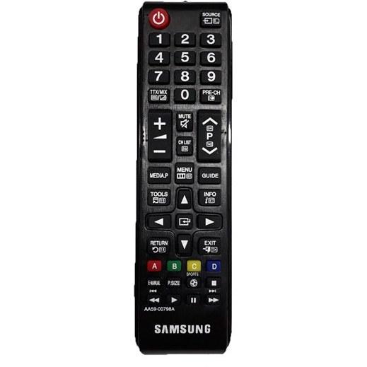 ریموت کنترل سامسونگ AA59 00798A   مخصوص ال ای دی و ال سی دی با طراحی زیبا Samsung Remote Control