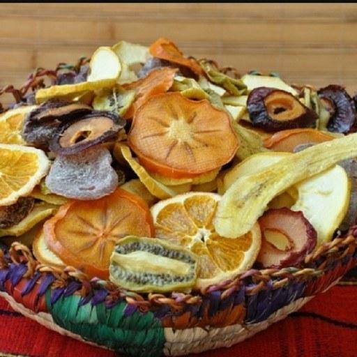 میوه خشک اعیانی | میوه خشک پک اعیانی شامل آنانانس ملون توت فرنگی و...