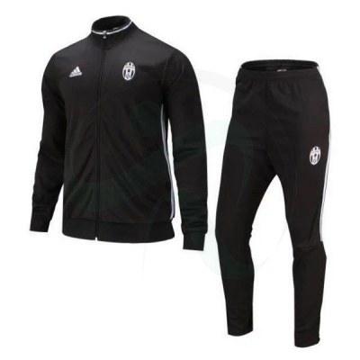 ست گرمکن شلوار یوونتوس مشکی Adidas Juventus 2016-17 Tracksuits