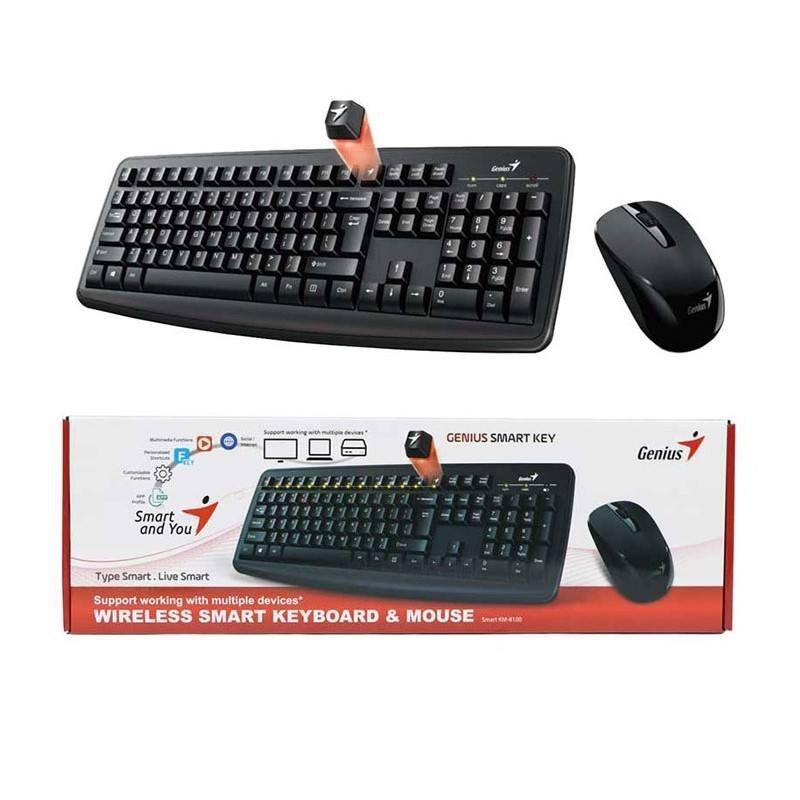 عکس کیبرد و ماوس بیسیم Genius مدل KM-8100 Genius Wireless Mouse & Keyboard Model KM-8100 کیبرد-و-ماوس-بیسیم-genius-مدل-km-8100