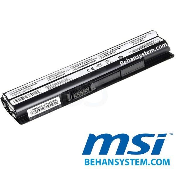 تصویر باتری لپ تاپ MSI مدل CR650 (برند M&M دارای سلول سامسونگ ساخت کره)