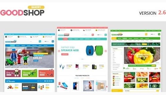 تصویر قالب وردپرس Good Shop