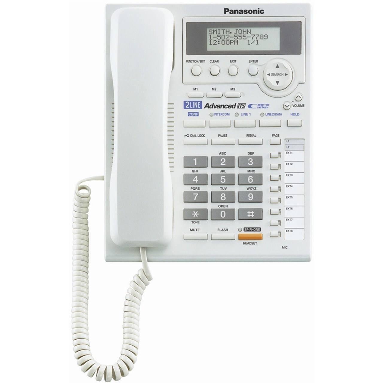 image تلفن باسیم پاناسونیک مدل تی اس 3282 تلفن پاناسونیک KX-TS3282 Corded Telephone