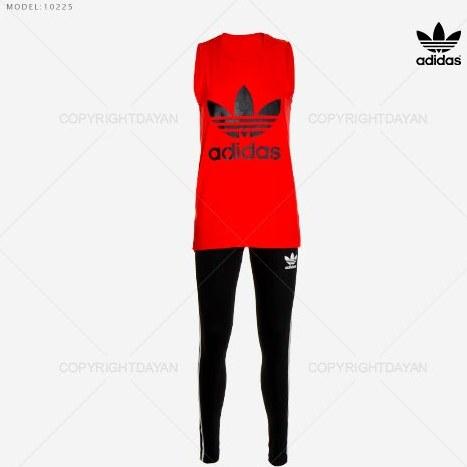 ست تاپ و شلوار زنانه Adidas مدل 10225 |