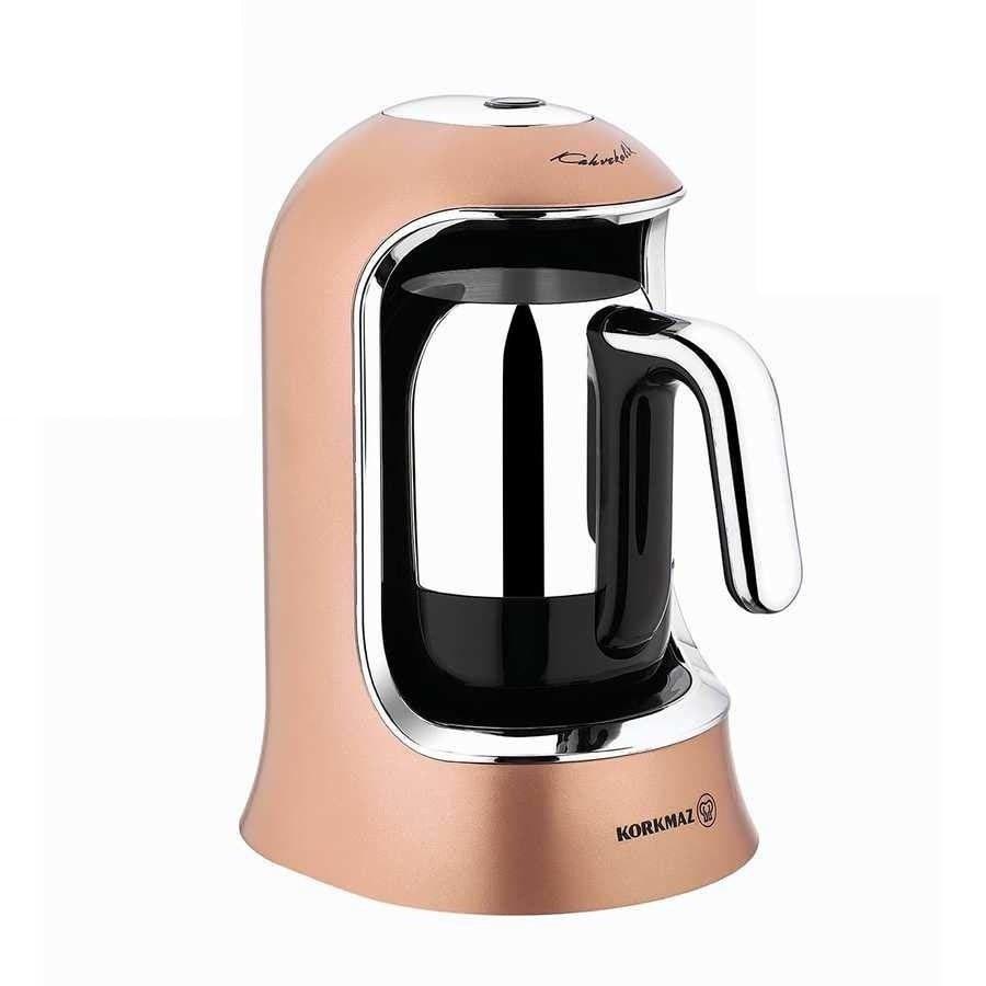 تصویر قهوه ساز کرکماز Korkmaz Kahvekolik کد A860 Korkmaz Kahvekolik Automatic Coffee Machine| A860