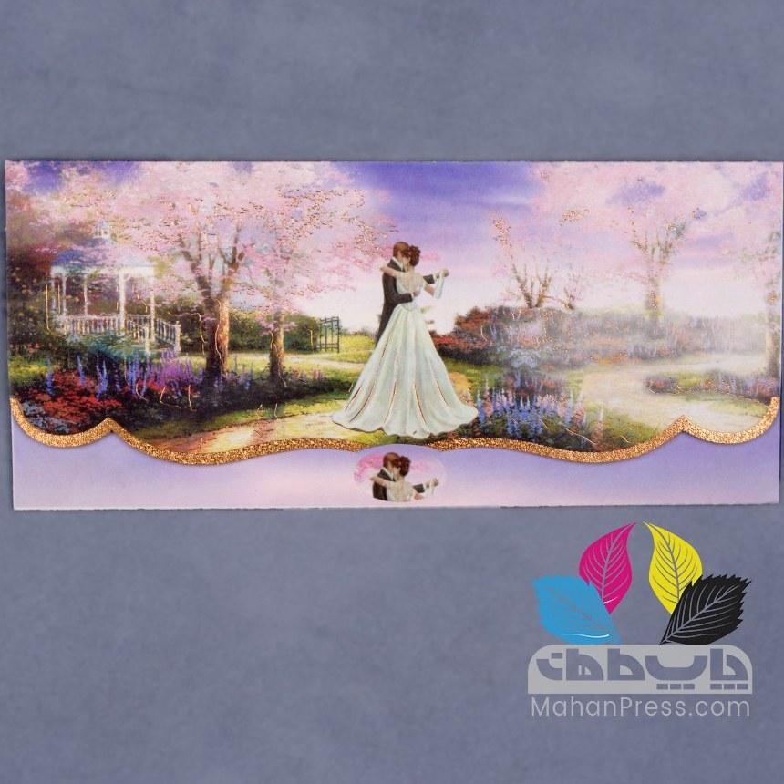 تصویر کارت عروسی کد 651