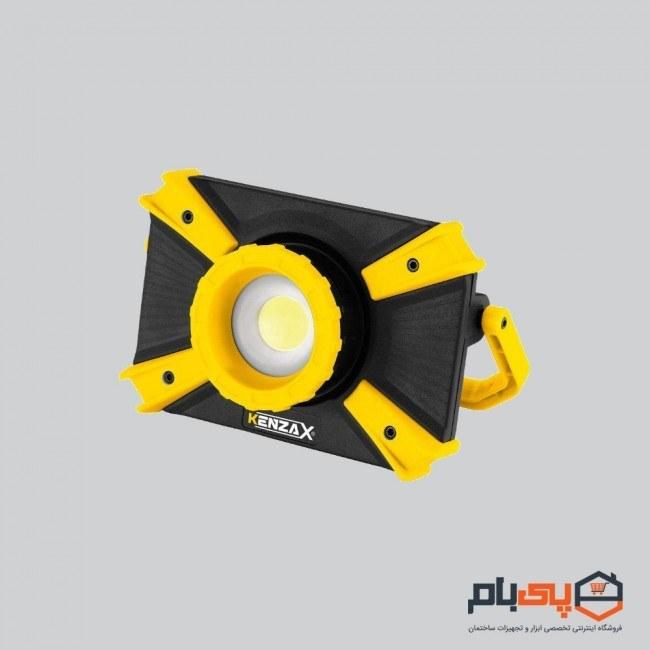 تصویر نورافکن شارژی کارگاهی کنزاکس مدل KPL-1100 KENZAX KPL-1100 Usb Intelligent Charging Lantern