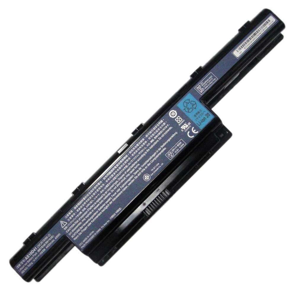 تصویر باتری یوبی سل 6 سلولی مناسب برای لپ تاپ ایسر Aspire 5741-5742             غیر اصل Aspire 5741-5742 6 Cell Ubi Battery For Acer Laptop