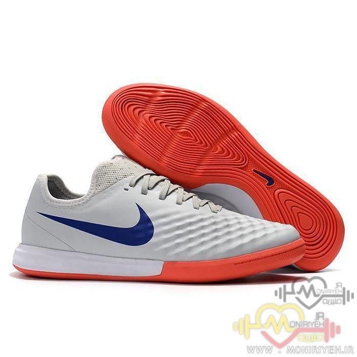 عکس کفش فوتبال سالنی نایک – طوسی Nike Futsal Magistax Final II 2  کفش-فوتبال-سالنی-نایک-طوسی-nike-futsal-magistax-final-ii-2
