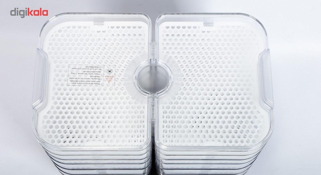 تصویر میوه و سبزی خشک کن کیپ مدل KD-1001KR Keep Fruit And Vegetable Dryer KD-1001KR