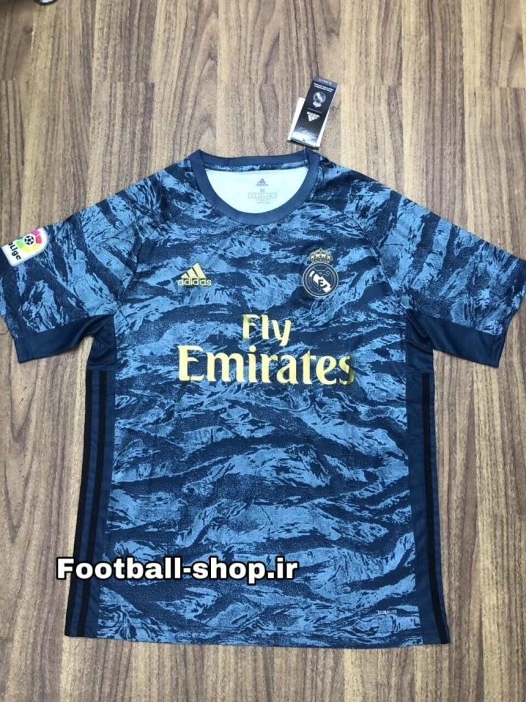 تصویر پیراهن گلری چریکی گرید یک +A اریجینال 2020 رئال مادرید-Adidas
