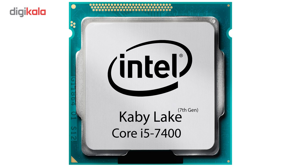 تصویر Intel Core-i5 7400 3.0GHz FCLGA 1151 Kaby Lake CPU ا پردازنده تری اینتل مدل آی فایو ۷۴۰۰ با فرکانس ۳.۰ گیگاهرتز پردازنده تری اینتل مدل آی فایو ۷۴۰۰ با فرکانس ۳.۰ گیگاهرتز