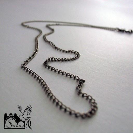 زنجیر نقره (ظریف و سبک 50 سانتی) |