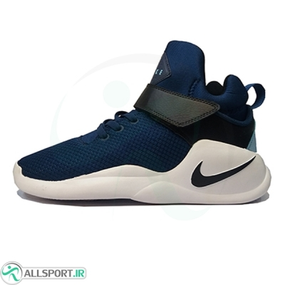 کفش بسکتبال نایک سرمه ای سفید Nike
