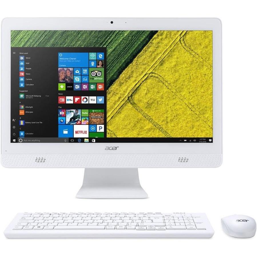 تصویر کامپیوتر آماده ایسر مدل Aspire C۲۰-۷۲۰ با پردازنده پنتیوم Acer Aspire C20-720 J3710 4GB 1TB Intel All-in-One PC