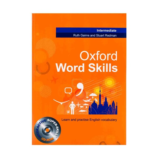تصویر Oxford Word Skills Intermediate کتاب آکسفورد وورد اسکیلز اینترمدیت همراه با سی دی