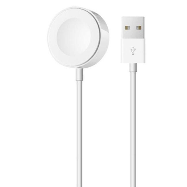 تصویر کابل شارژ مغناطیسی اپل واچ 95 درصد اصلی Apple Watch Magnetic Charger to USB Cable 2m