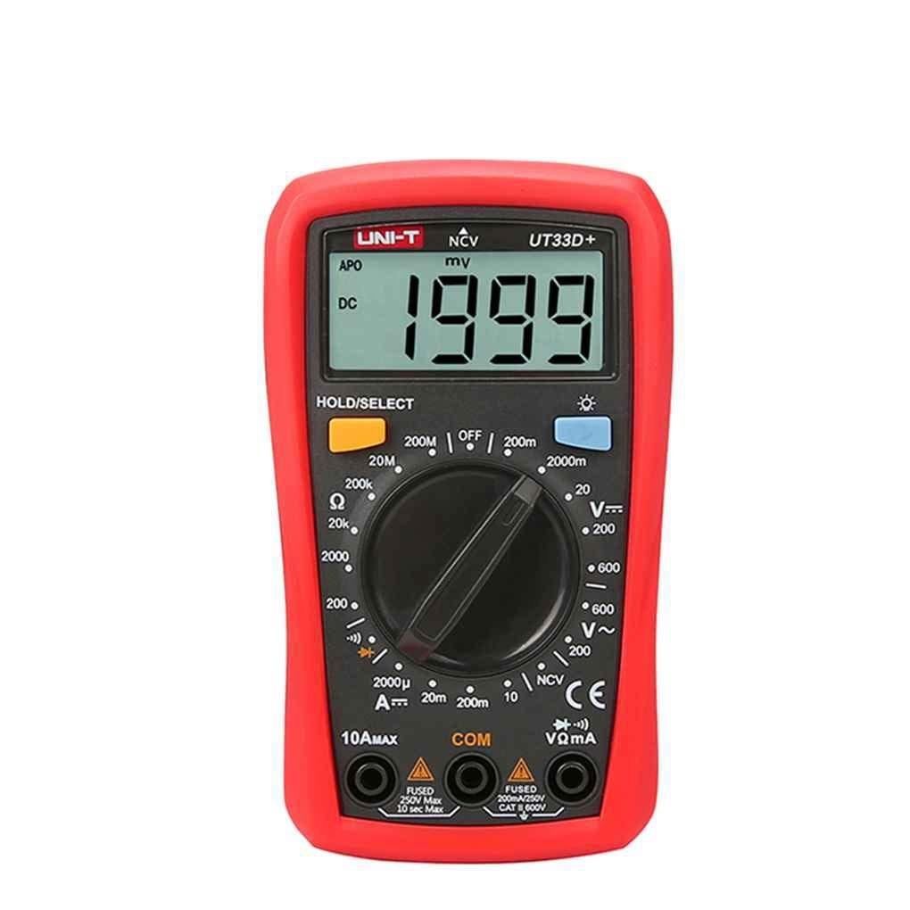عکس مولتی متر خوب و ارزان قیمت UNI-T UT33D Plus Palm Size Multimeter UT33D Plus UNI-T مولتی-متر-خوب-و-ارزان-قیمت-uni-t-ut33d-plus