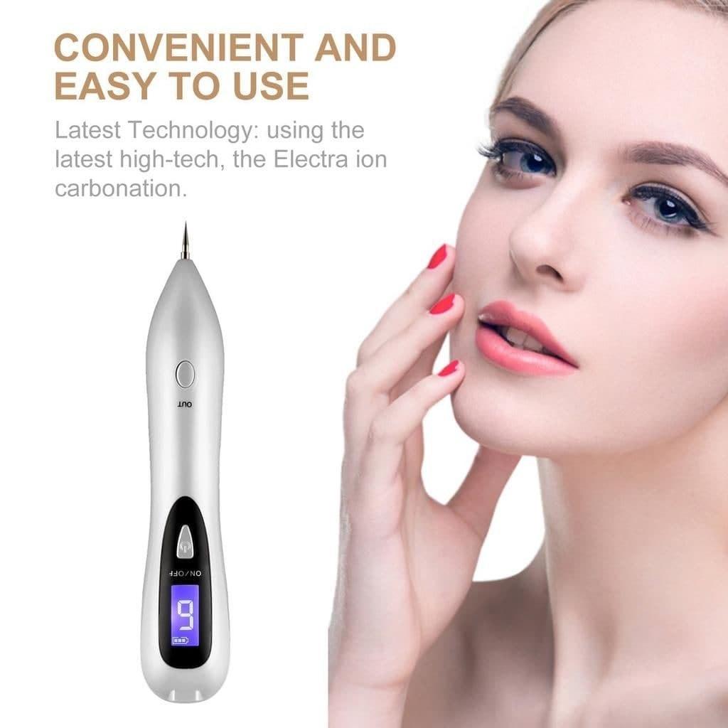 تصویر دستگاه لیزر بیوتی پن 9 قدرته پلاسما پن چراغ دار دیجیتالی موهیر Beauty Pen Moehair
