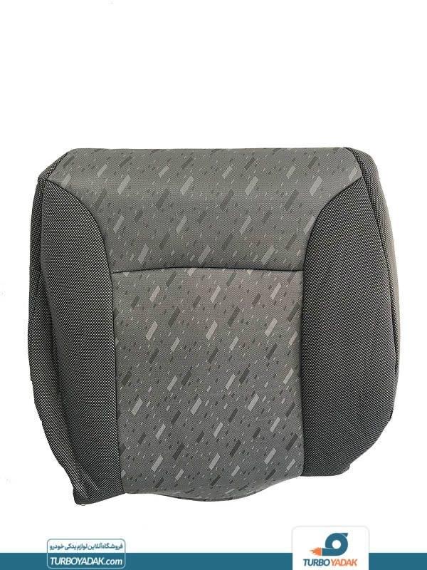 روکش صندلی پارچه ای طرح فابریک طوسی پراید صبا شرکتی