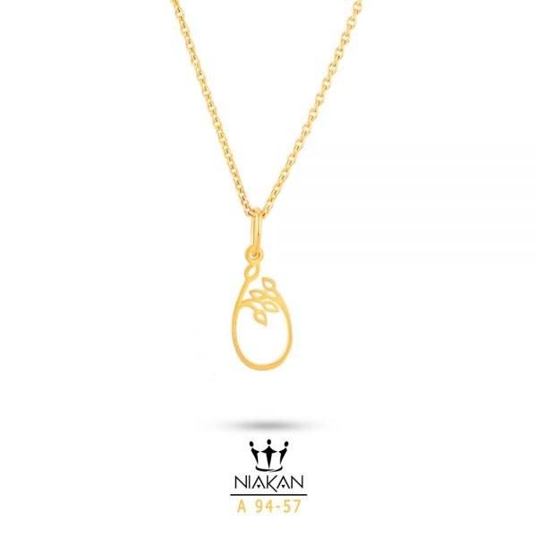 گردنبند طلا زنانه کد A94-57 |