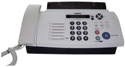 تصویر دستگاه فکس کاربنی FAX-878 برادر Brother FAX-878 Fax Machine