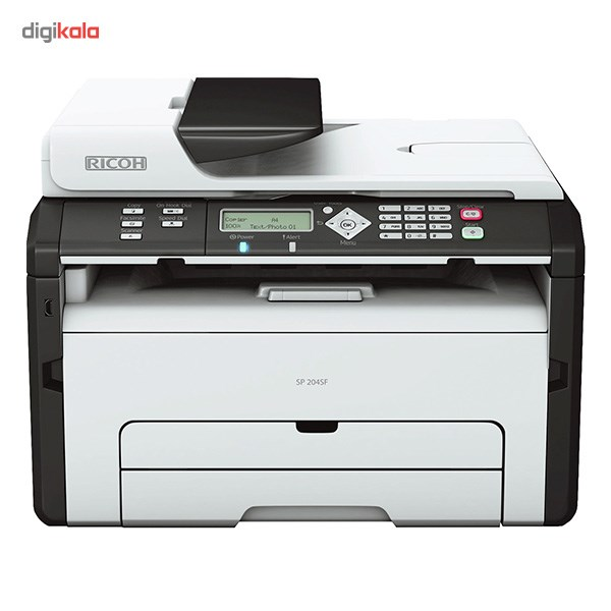تصویر پرينتر چندکاره ليزري ريکو مدل SP 204SF Ricoh SP 204SF Multifunctional Laser Printer