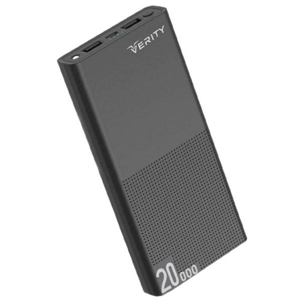 main images پاوربانک Verity ظرفیت 20000mAh مدل V-PA120 مشکی