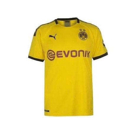 پیراهن پلیری اول تیم دورتموند فصل Borussia Dortmund 2019-20 Home Soccer Jersey