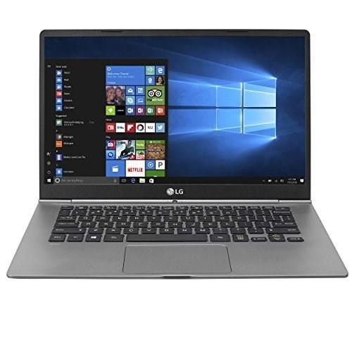 LG Electronics 14Z970-A.AAS5U1 لپ تاپ نازک و سبک LG grams - صفحه نمایش 14 اینچی صفحه نمایش لمسی Full HD IPS، پردازنده 8 هسته ای، 256 گیگابایت SSD، 2.1 گیگابایت، صفحه کلید پشتی، Dark Silver - 14Z970