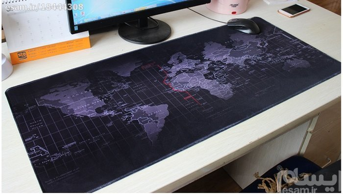 موس پد گیمینگ مپ90 سانتی World Map