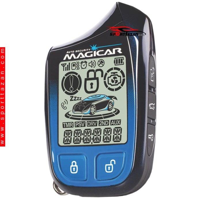 دزدگیر تصویری ماجیکار مدل i132A | Magicar Car alarm i132A